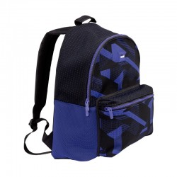 Mochila escolar Knit azul...