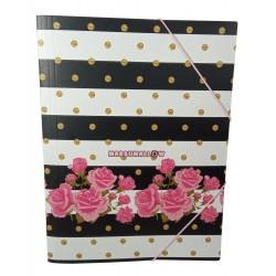 Carpeta Marshmallow Rosas